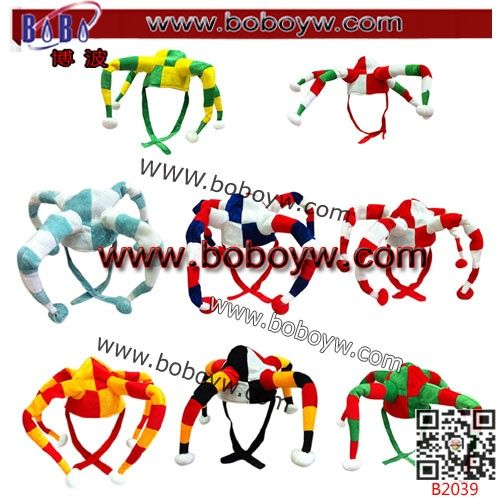 Yiwu China Export Hair Products Afro Clown Headwear Word Cup Accessories