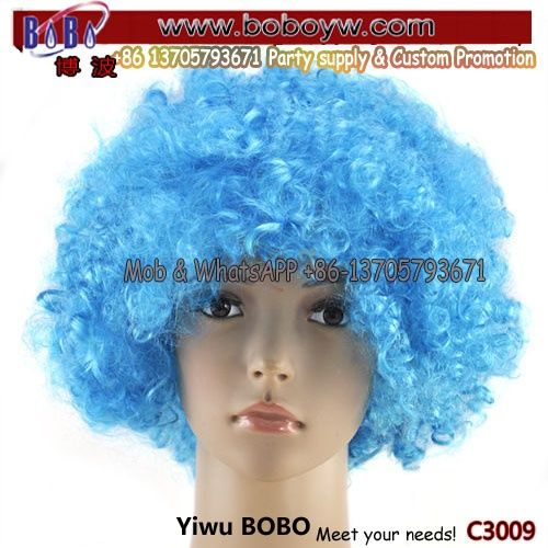 Hair Accessory Curly Afro Wig Valentine Gift Love Gift Hen Nights Party Products (C3009)