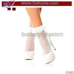 Cotton Socks Ankle Sock Advertising Gifts with White Bow
