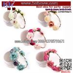 Boho Floral Flower Crown Headband Hair Garland Wedding Party Head Piece Hairband (B6031)