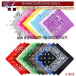 Party Items Promotion Items Cotton Bandana Bandanna Corporate Gift (C1102)