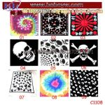 Polyester Scarf Cotton Bandana Bandanna Freight Promotional Items (C1108)