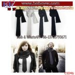 Europe Fashion Scarf Fashion Scarves Custom Logo Scarf Silk Scarf (C1046)