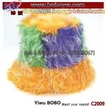 China Yiwu Mardi Gras Hat Furry Hat Promotional Hat Headwear Birthday Holiday Decoration (C2009)