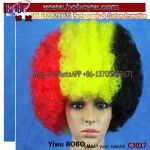 Olympic Games Decorations Party Afro Hair Wig Party Supply (C3017)