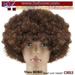 Halloween Costumes Hair Accessory Party Product Wedding Party Soccer Crazy Football Fans Afro Wig Party Wigs (C3013)