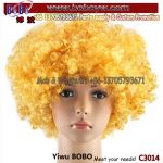 Yiwu Market Afro Wig Synthetic Wig Party Goods Halloween Carnival Party Decoration Party Costumes (C3014)