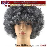 Afro Party Wig Garment Accessory Fan Wig Carnival Hallowen Clown Party Goods (C3015)