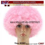 Classic Cap Party Wig for Wedding Birthday Party Decoration Hair Wig Synthetic Hair Wig Team Wigs (C3007)