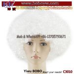 Halloween Party Products Synthetic Afro Wig Cosplay Wig Birthday Party Supply (C3010)