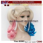 Halloween Party Favor Carnival Clown Party Items Party Quinn Hair Cosplay Wigs Party Afro Wig (C3040)