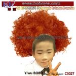 Kids Afro Wig Birthday Party Supplies Novelty Hair Wig Promotional Gift Party Gifts (C3027)