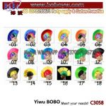 Birthday Party Favor Factory Wholesale Wig Party Wig Funny Afro Wig Halloween Carnival Costumes Party Supply (C3058)