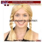 Oktoberfest Party Supply Party Wig Halloween Carnival Party Products Crazy Funny Wig (C3062)